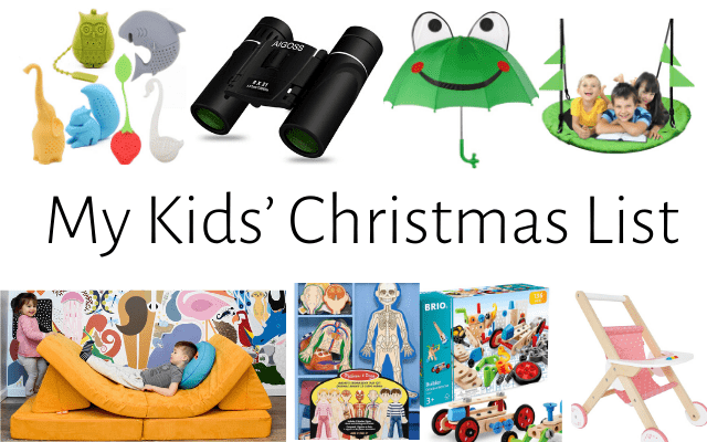 My Kids' Christmas List